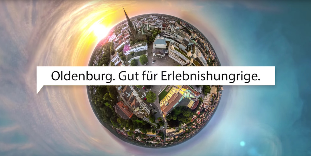 360° Tiny Planet Video - Tourismus Oldenburg