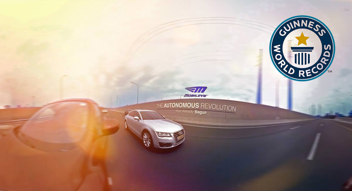 Guiness World Record - 360 Video VR - Mobileye by Intel